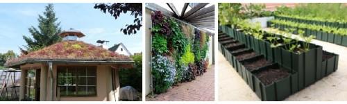 Zielone dachy & ogrody wertykalne