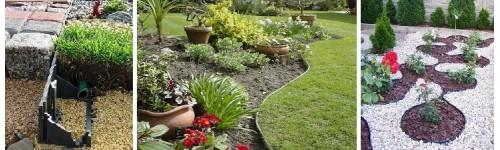 Odgradzanie nawierzchni - obrzeża trawnikowe