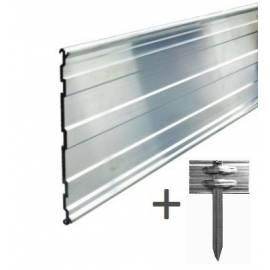 AR100 gala*AluRITE100 obrzeże aluminiowe 1mb + zestaw mocujący