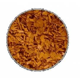 Zrębki dekoracyjne 50L pomarańczowe